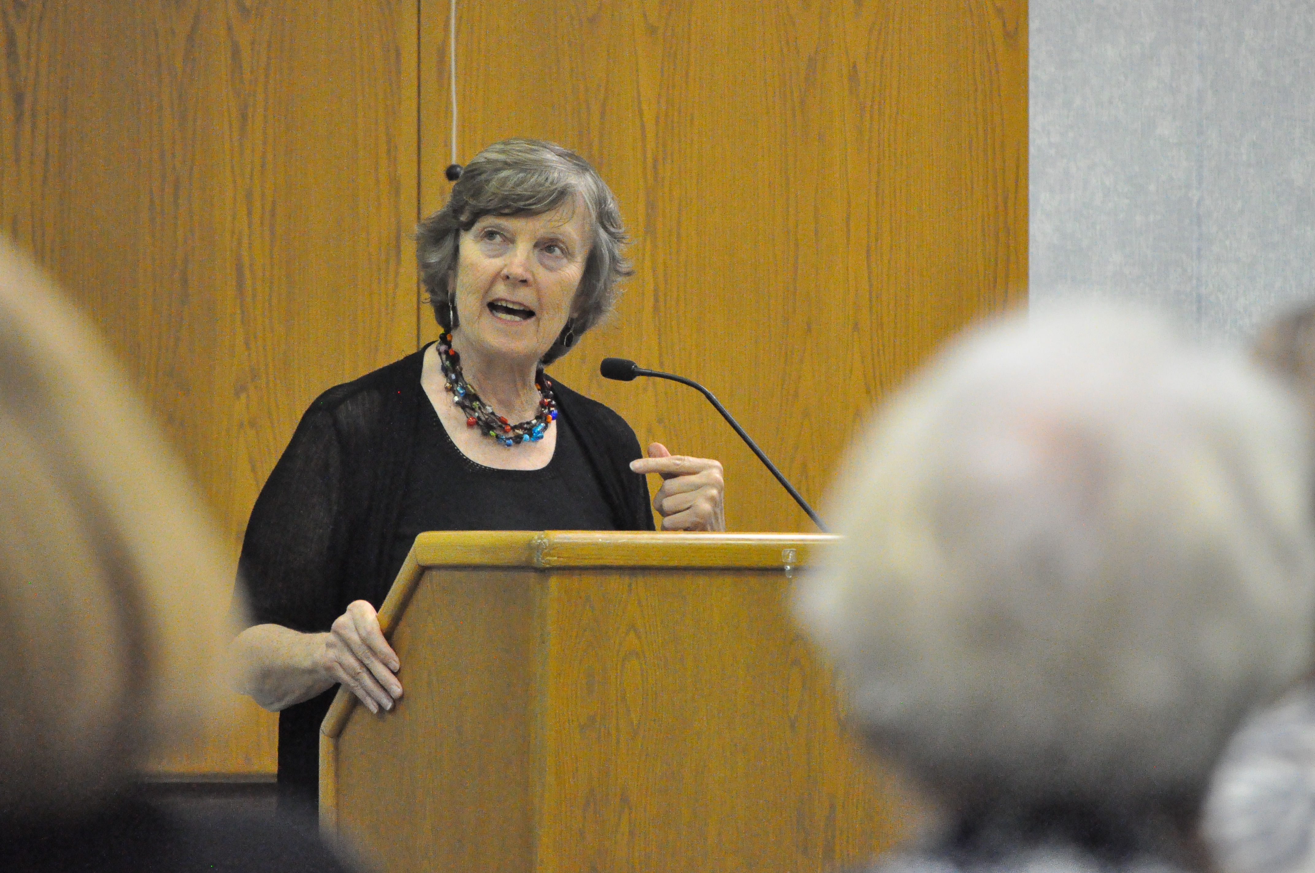 Lois Campbell, president of the Pastoral Council of the Catholic Community of the East End of Pittsburgh.