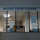 The traffic court cashier window at Pittsburgh Municipal Court in Downtown.