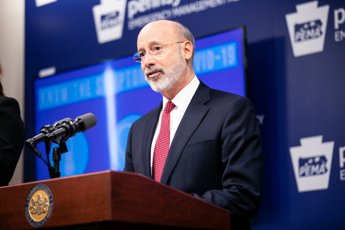 Gov. Tom Wolf. (From the Pennsylvania Governor's Office)