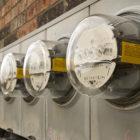 Photo of meters.