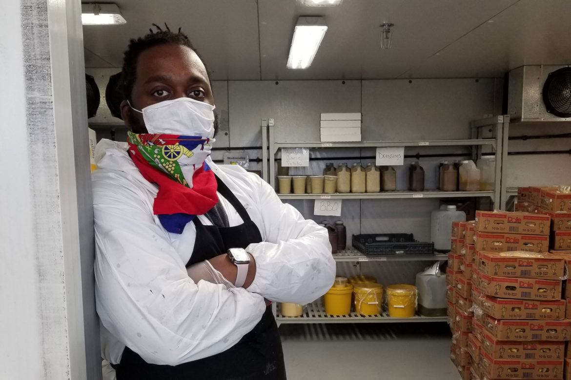 Chef Claudy Pierre of Arnold's Tea
