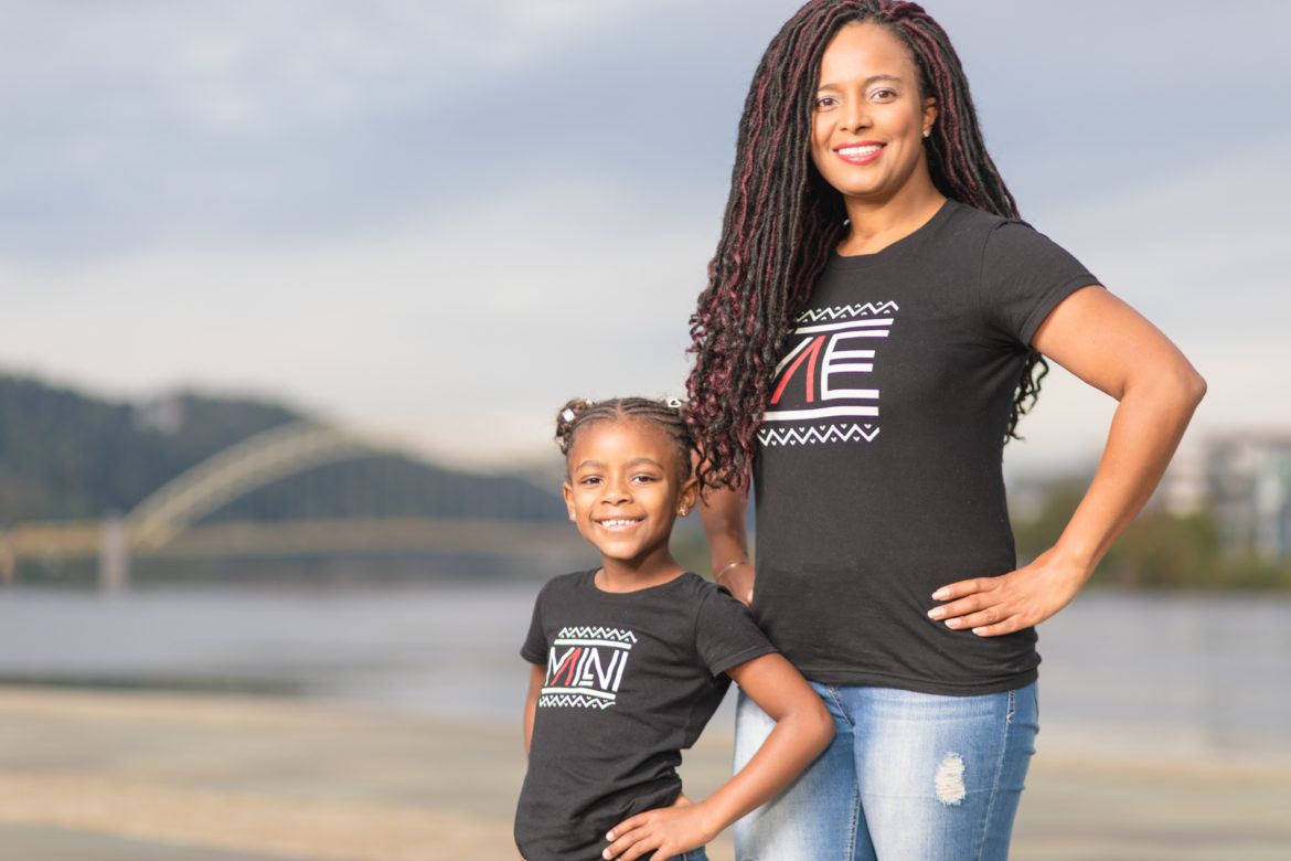 Heather Hopson is the founder of Single Mom Defined, a project that celebrates Black motherhood. (Robert Waters/Motor Mouth Multimedia)
