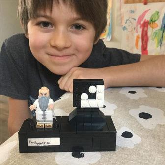 third-grader Felix Wodzak