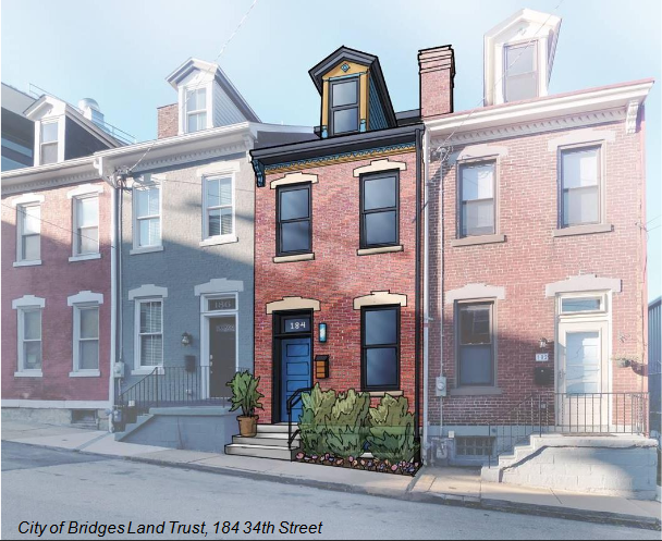 If the city doesn't require off-street parking for new townhouses and rowhouses, they could look like this, according to a Department of City Planning presentation made to the City Planning Commission on June 16, 2020.