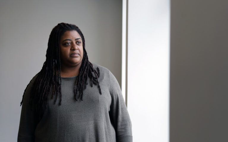 Tiffany Sizemore, leader of the the Juvenile Defender Clinic at Duquesne University. (Photo by Ryan Loew/PublicSource)