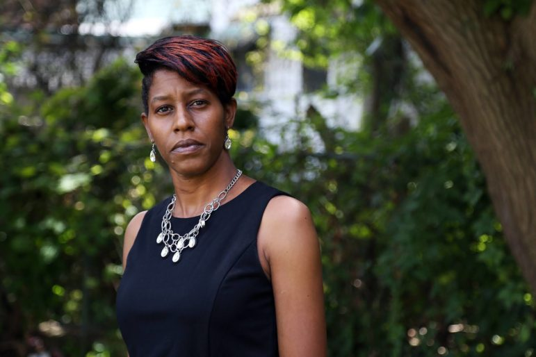 Jamie Upshaw is the executive director of Autism Urban Connections, a local nonprofit organization that focuses on services for the Black community. (Photo by Ryan Loew/PublicSource)