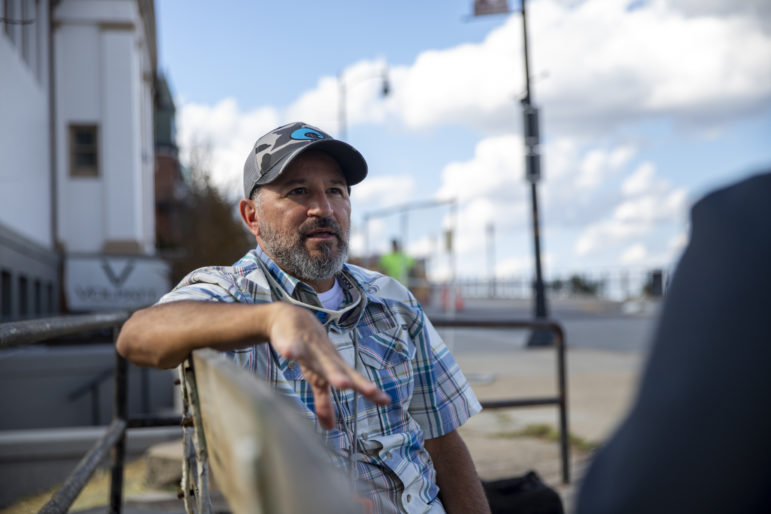 Alberto Benzaquen, a native of Venezuela, has found his place on Mount Washington and on Pittsburgh's Commission on Human Relations. (Photo by Jay Manning/PublicSource)