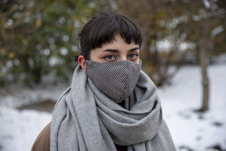 Darya Kharabi, a senior undergraduate at Carnegie Mellon. (Photo by Jay Manning/PublicSource)