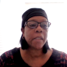 Carol Hardeman, executive director of the Hill District Consensus Group, talks about the effects of housing policy on her community, during a virtual press conference on Jan. 21, 2021. (Screenshot)