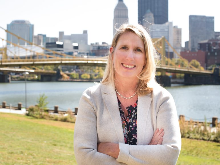 Erin Dalton heads the Office of Analytics, Technology and Planning of the Allegheny County Department of Human Services, and has been named the department's next director, effective in March.