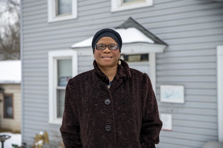 Yvette Williams said she misses being able to hug the new HIV patients she counsels and fears it is worsening the feeling of stigma, even though the precautions are because of COVID. (Photo by Jay Manning/PublicSource)