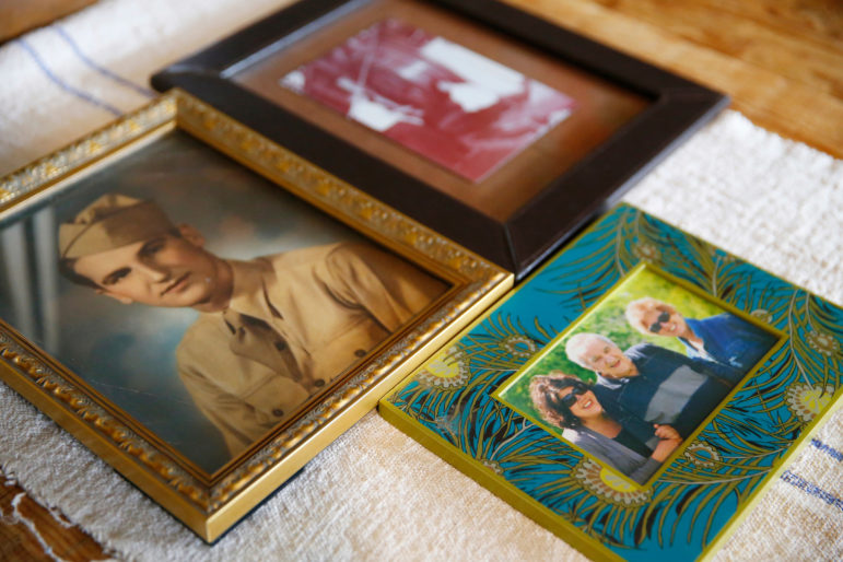Photos of Chris Rosselot's grandfather and family members