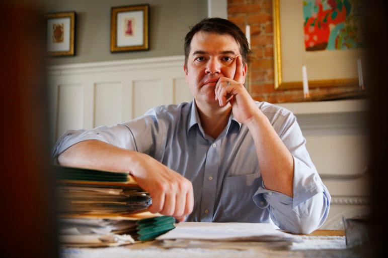 Chris Rosselot poses for a portrait.