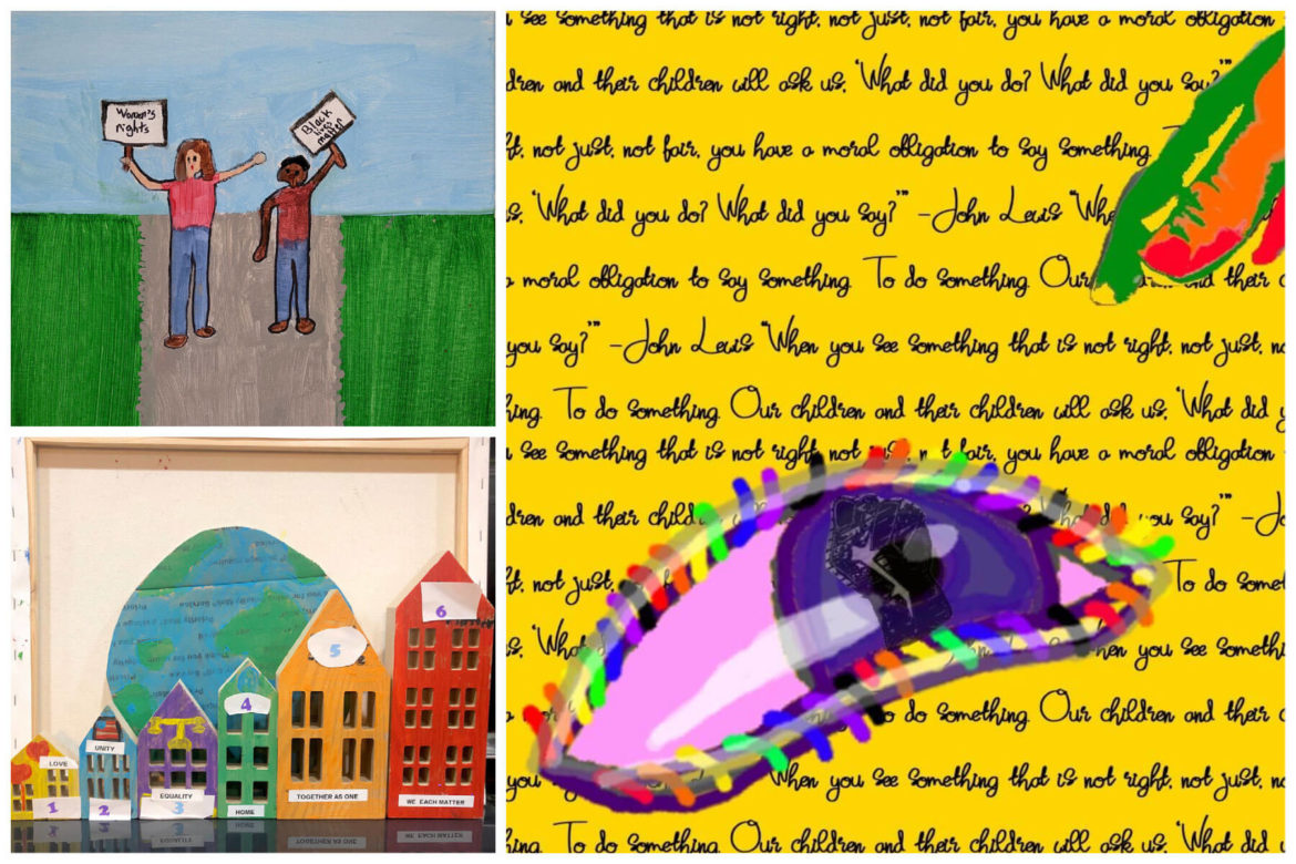 The art of 'angelic troublemaking,' student art