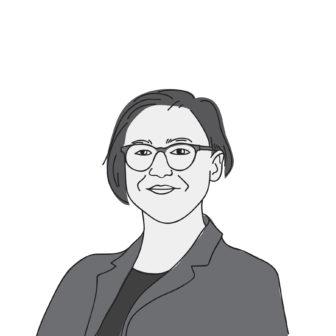 illustrated portrait of Bethani Cameron