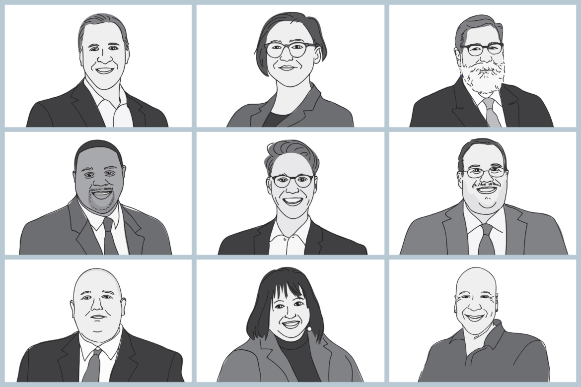 grid of candidates in pittsburgh 2021 primary elections