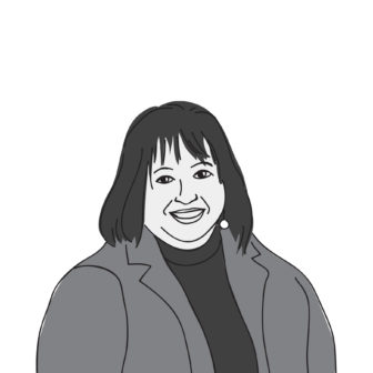 illustrated portrait of Theresa Kail-Smith