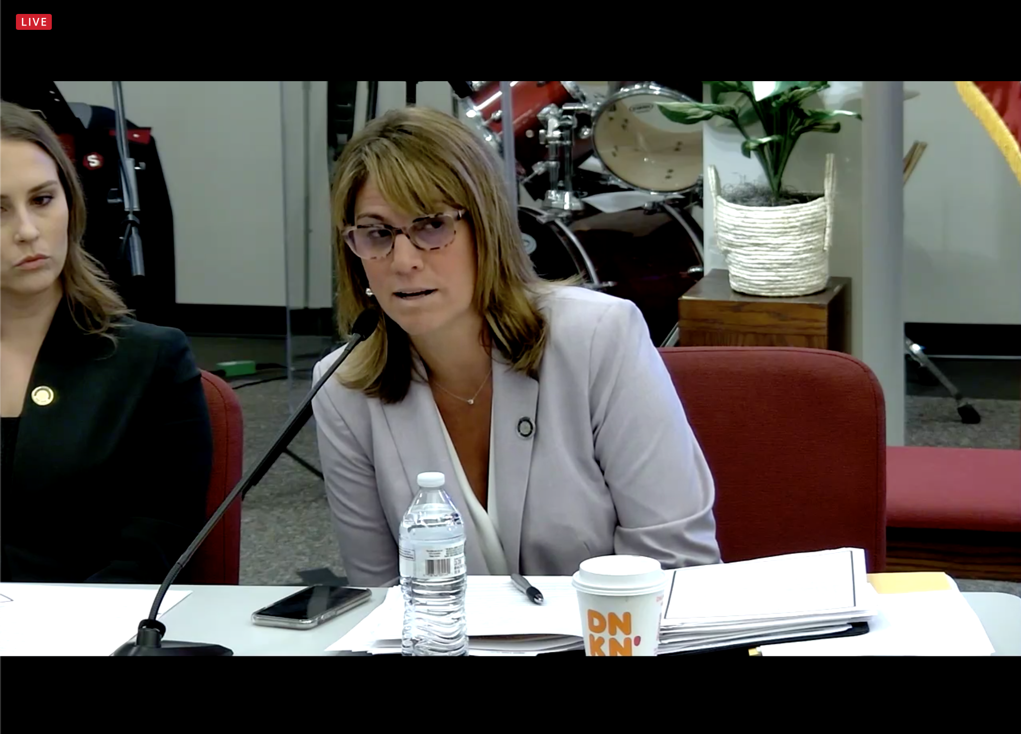 Pennsylvania Rep. Carrie Lewis DelRosso, R-Oakmont, called for improvements in the state's anti-blight programs at a hearing in Brackenridge on June 3, 2021. (Screenshot)