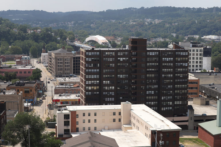 Midtown Plaza in McKeesport (Photo by Ryan Loew/PublicSource)