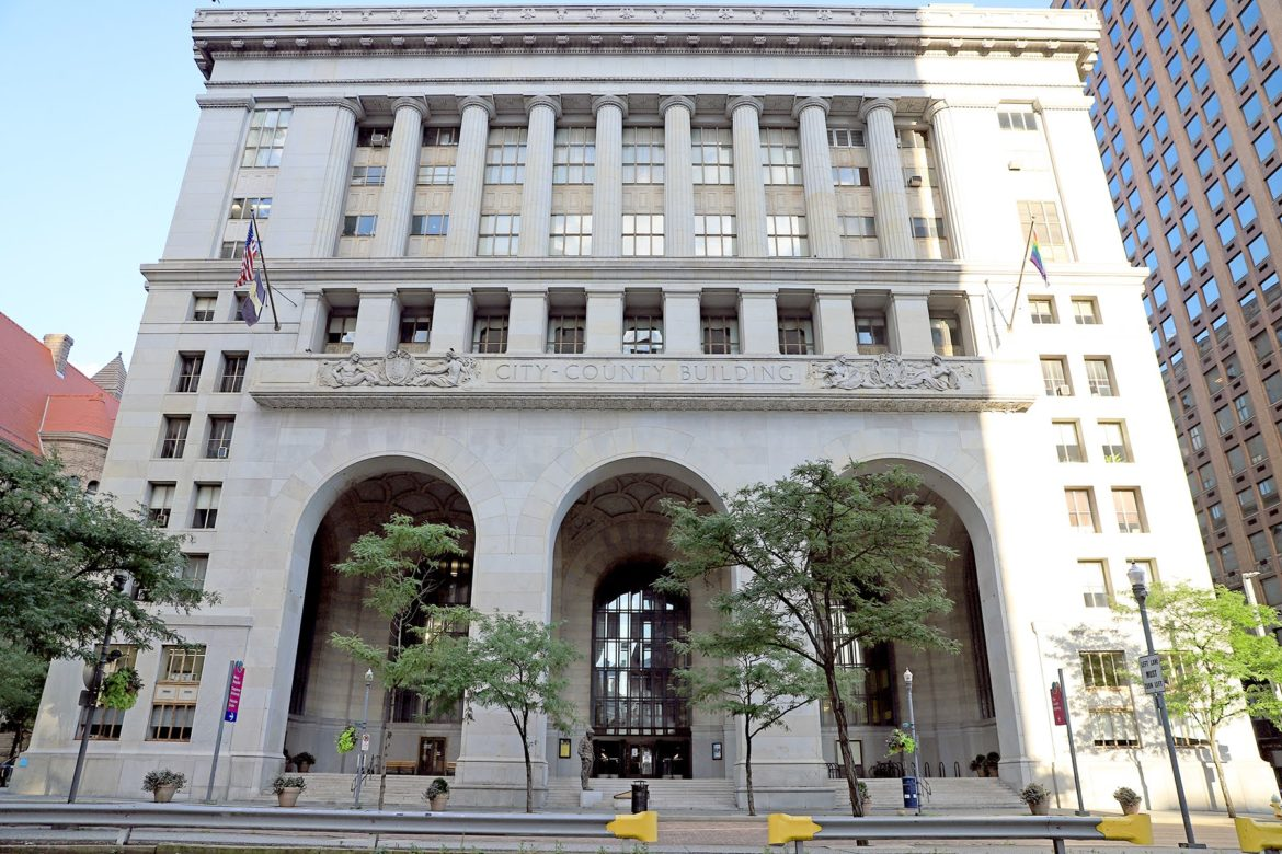 The City-County building in Downtown Pittsburgh